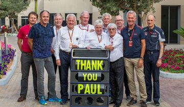 Paul Rosche - Gruppenfoto - GP Abu Dhabi 2016