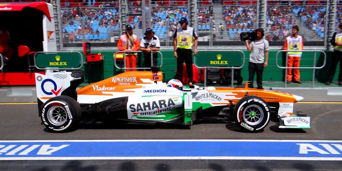 Paul di Resta - Force India - Formel 1 - GP Australien - 15. März 2013