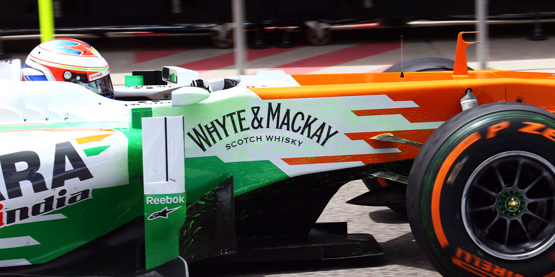 Paul di Resta - Force India - Formel 1 - GP Bahrain - 19. April 2013