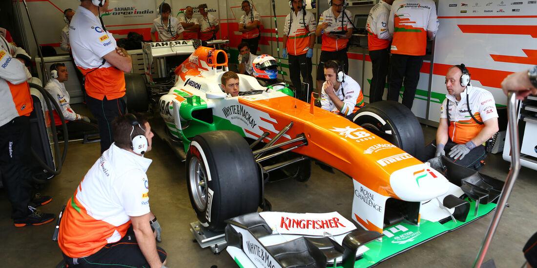 Paul di Resta - Force India - Formel 1 - GP Deuschland - 5. Juli 2013