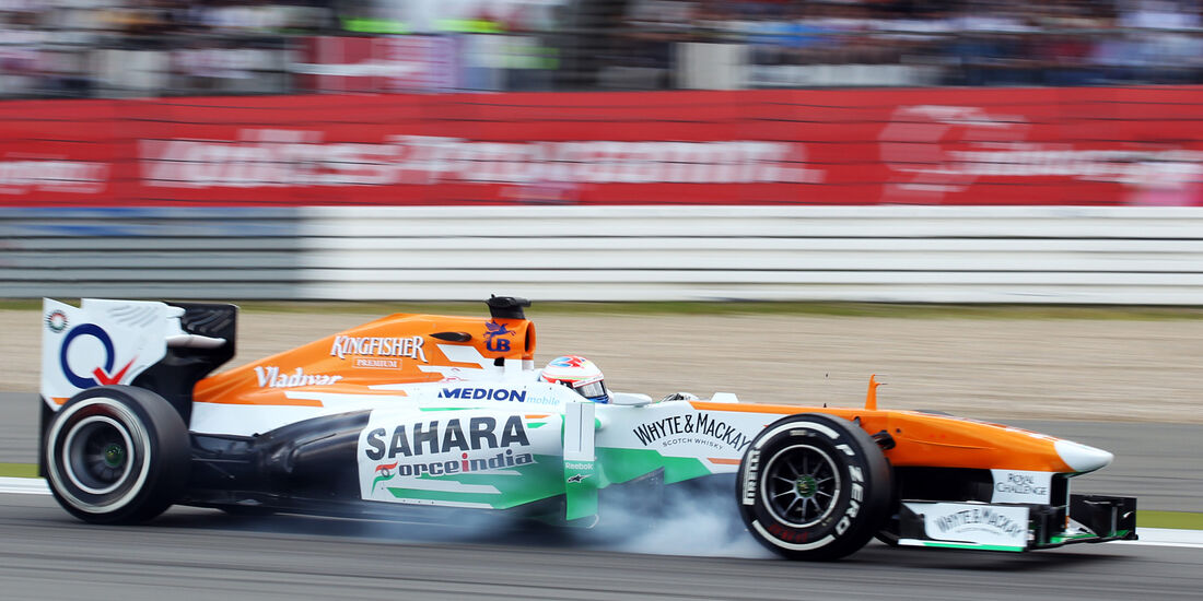 Paul di Resta - Force India - Formel 1 - GP Deutschland - 6. Juli 2013