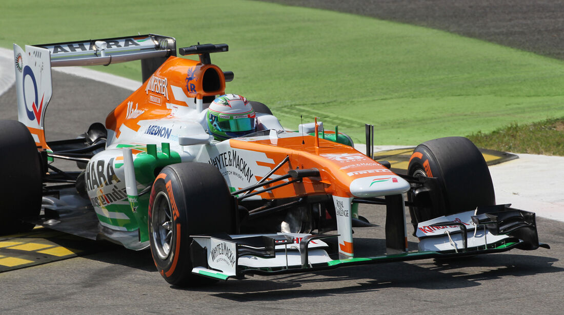 Paul di Resta - Force India - Formel 1 - GP Italien - 6. September 2013