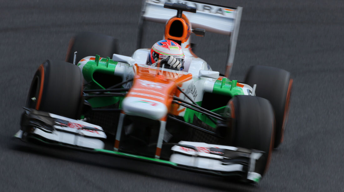 Paul di Resta - Force India - Formel 1 - GP Japan 2013