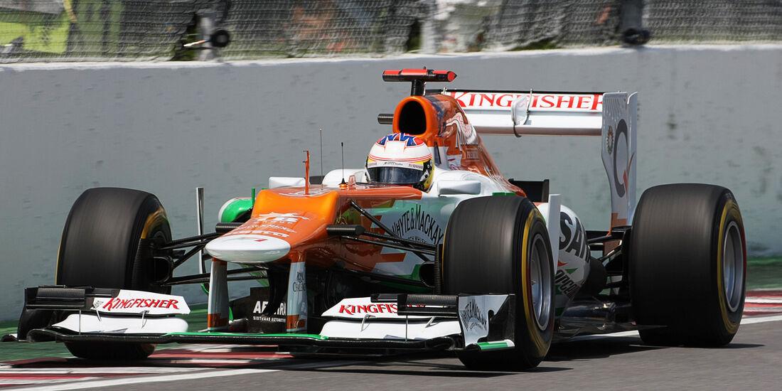 Paul di Resta - Force India - Formel 1 - GP Kanada - 10. Juni 2012