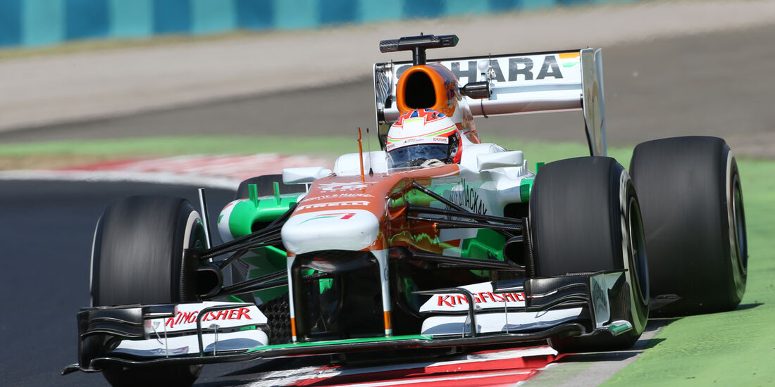 Paul di Resta - Force India - Formel 1 - GP Ungarn 2013
