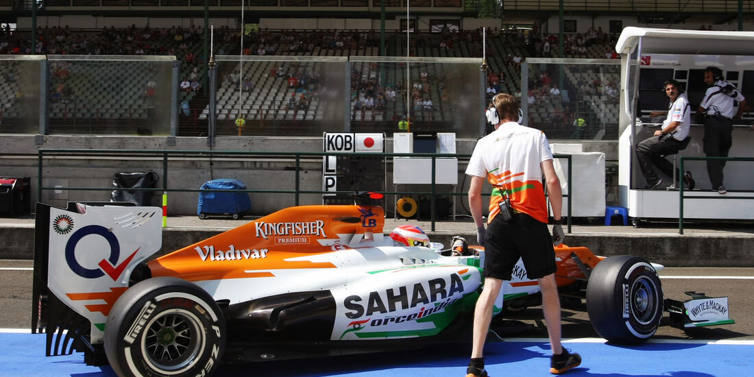 Paul di Resta - Force India - Formel 1 - GP Ungarn - Budapest - 28. Juli 2012