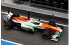 Paul di Resta, Force India, Formel 1-Test, Barcelona, 19.2.2013