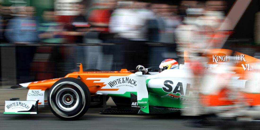 Paul di Resta - Force India - Formel 1-Test - Barcelona - 2012