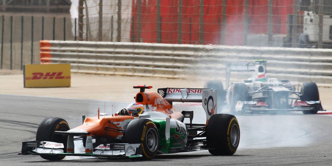 Paul di Resta Formel 1 2012