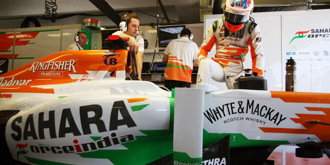 Paul di Resta - Formel 1 - GP Ungarn - Budapest - 27. Juli 2012