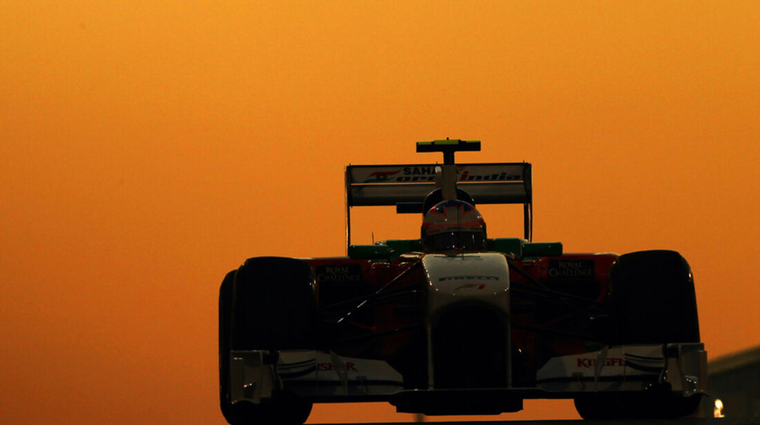Paul di Resta - GP Abu Dhabi - Qualifying - 12.11.2011