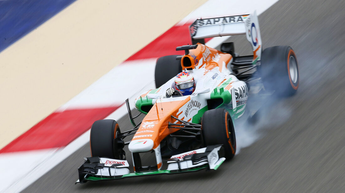Paul di Resta - GP Bahrain 2013