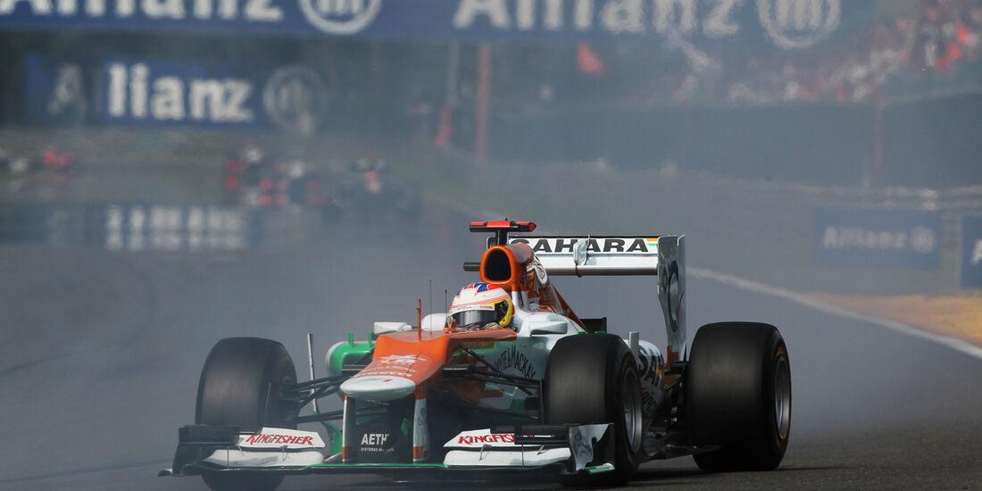 Paul di Resta GP Belgien 2012