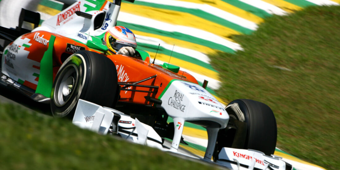 Paul di Resta - GP Brasilien - 25. November 2011