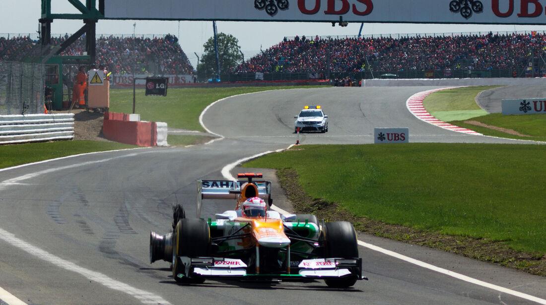Paul di Resta GP England Silverstone 2012