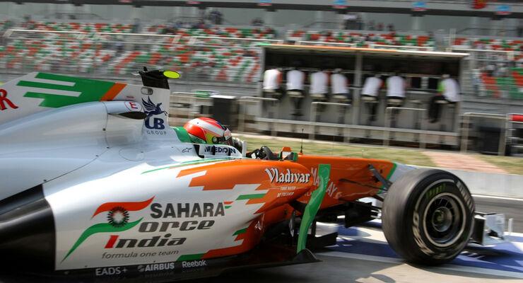 Paul di Resta - GP Indien - Delhi - 29.10.2011