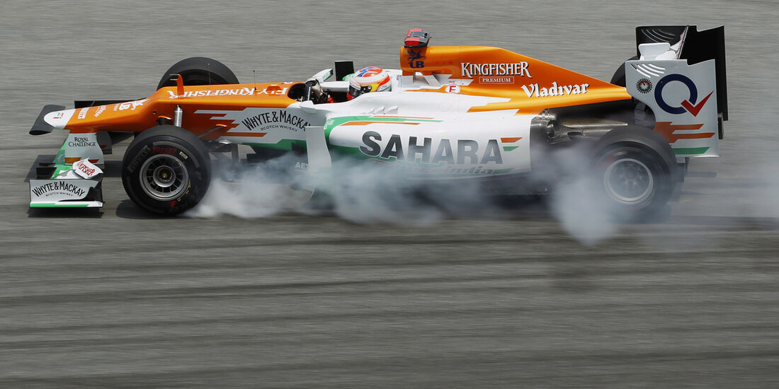 Paul di Resta GP Malaysia 2012
