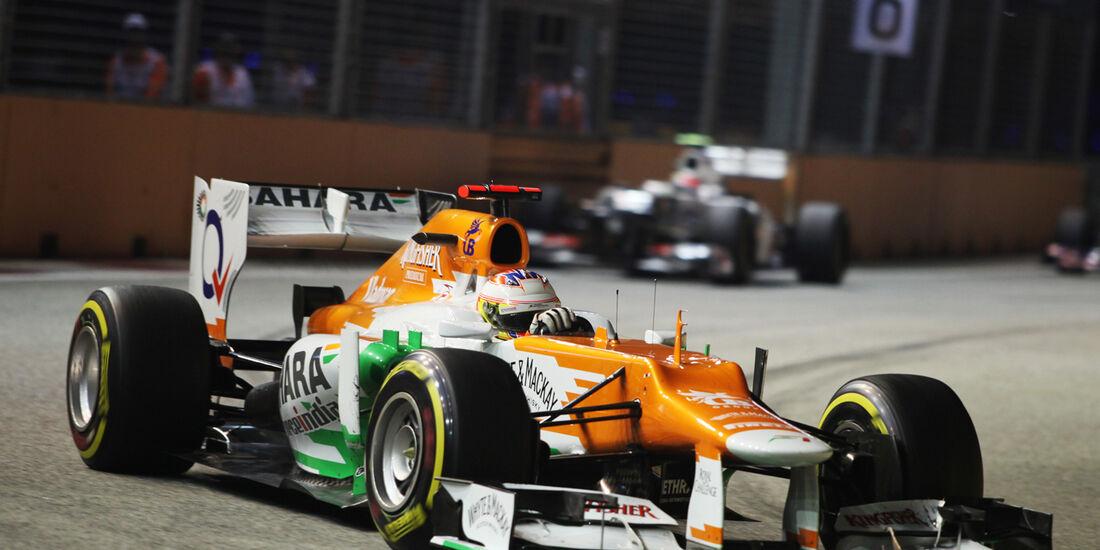 Paul di Resta - GP Singapur 2012