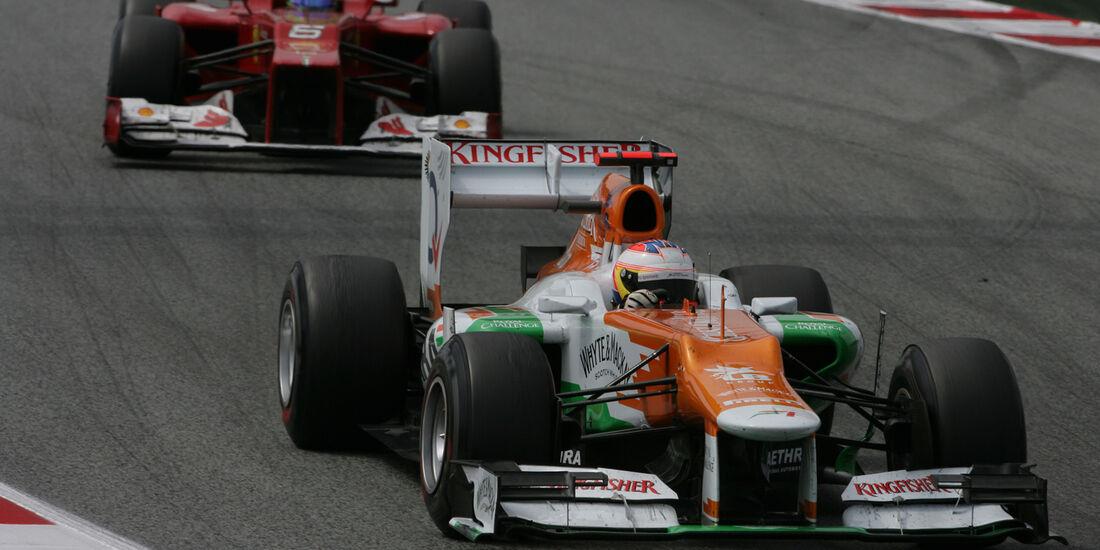 Paul di Resta GP Spanien 2012