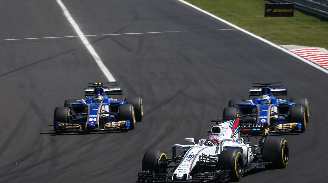 Paul di Resta - Williams - GP Ungarn 2017 - Budapest - Rennen