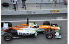 Paul die Resta - Force India - Formel 1-Test Barcelona - 3. März 2012