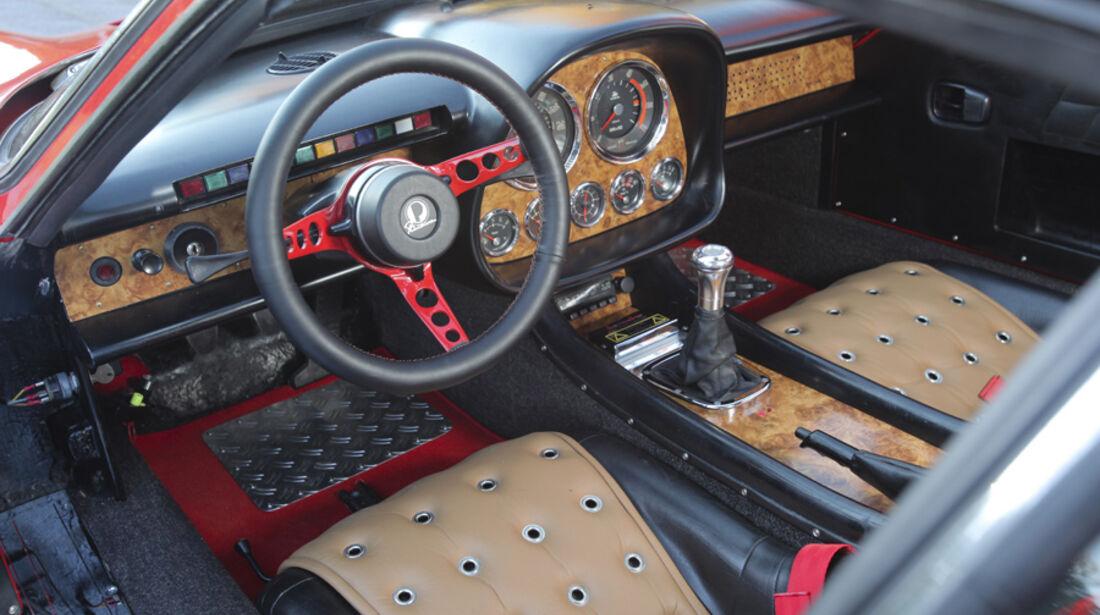 Paulussen Beradino Hardtop, Cockpit, Fahrersitz