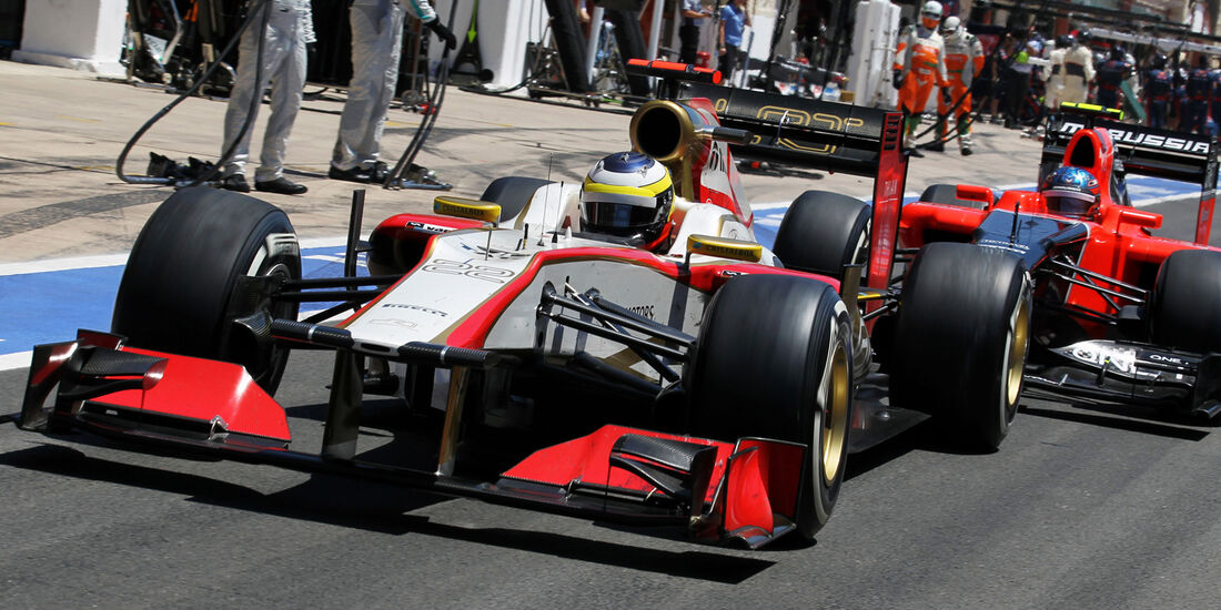 Pedro de la Rosa Formel 1 2012