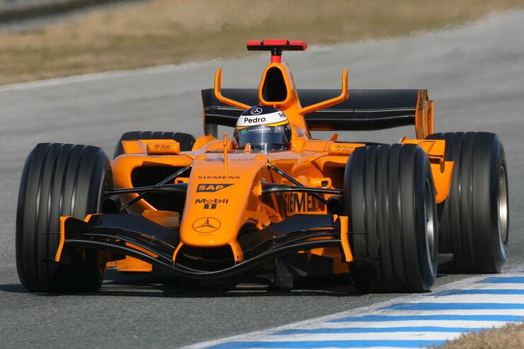 Pedro de la Rosa - McLaren MP4-20 - Test - Jerez - 2006