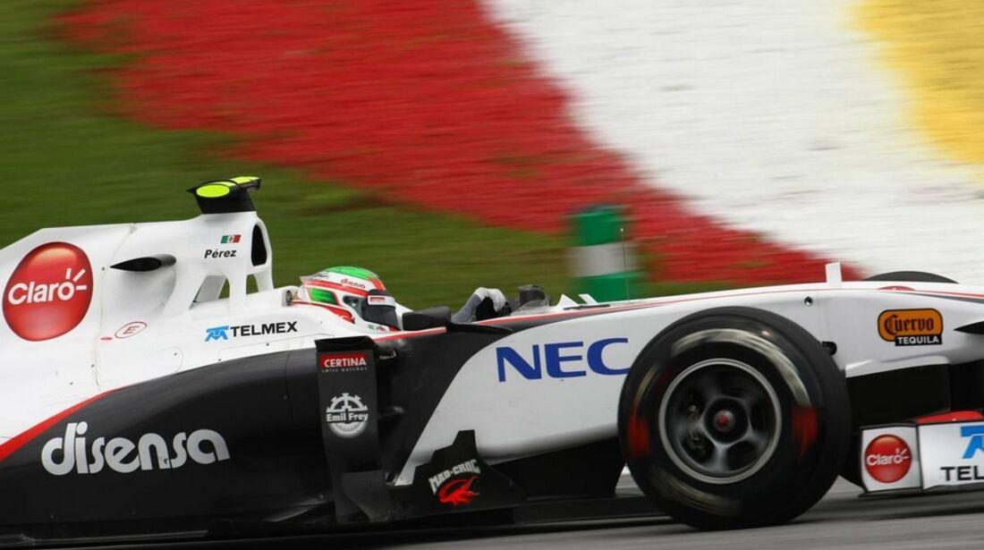 Perez GP Malaysia 2011 Formel 1