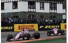Perez vs. Ocon - GP Belgien 2017