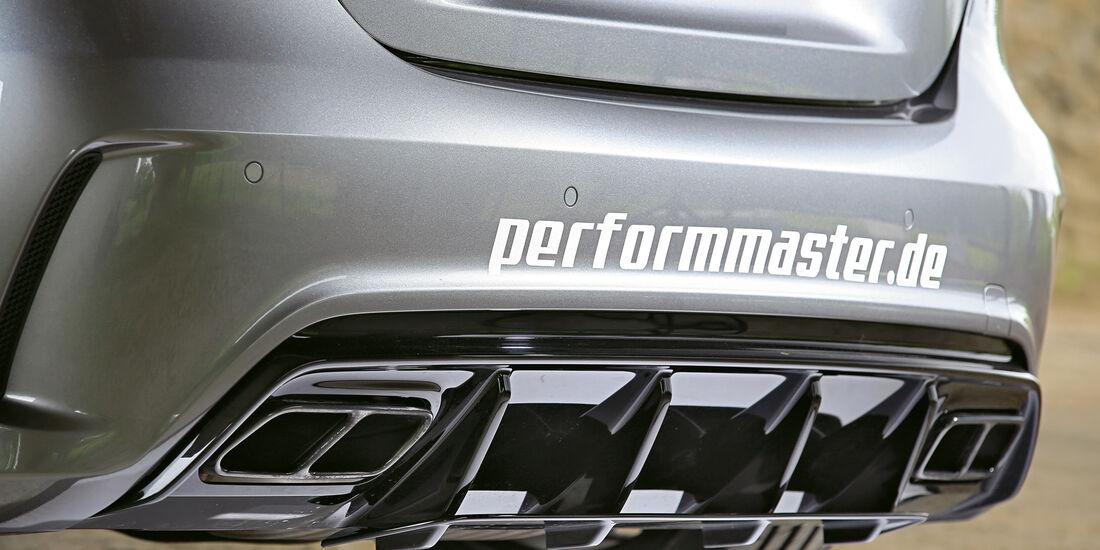 Performmaster-Mercedes-AMG A 45, Endrohre, Auspuff