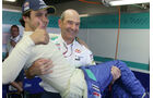 Peter Sauber und Felipe Massa
