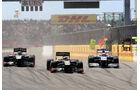 Petrov Barrichello Heidfeld GP Türkei 2011