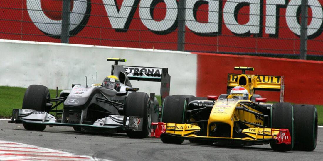 Petrov vs. Rosberg