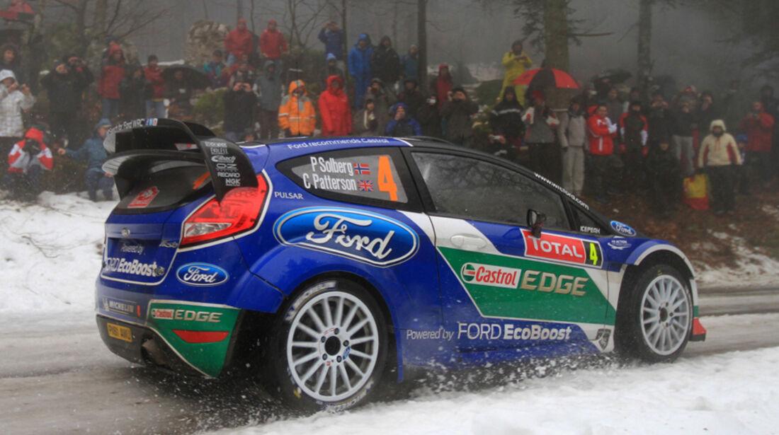 Petter Solberg Rallye Monte Carlo 2012