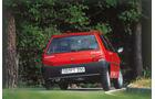 Peugeot 106, Heckansicht