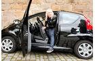 Peugeot 107 70 Urban Move, Aussteigen, hinten