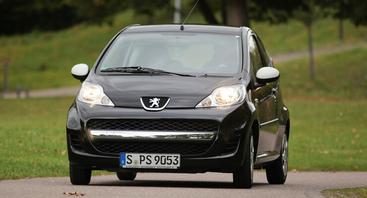 Peugeot 107 70 Urban Move, Front