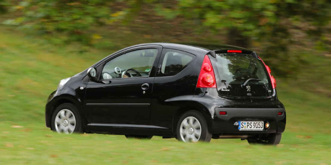 Peugeot 107 70 Urban Move, Seitenansicht