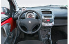Peugeot 107, Cockpit