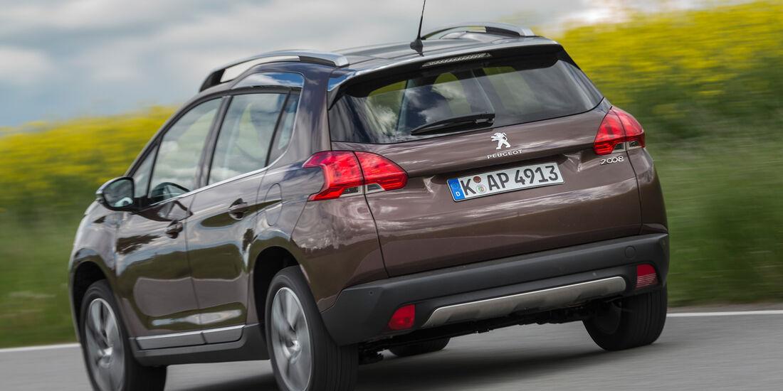 Peugeot 2008 120 Vti, Heckansicht