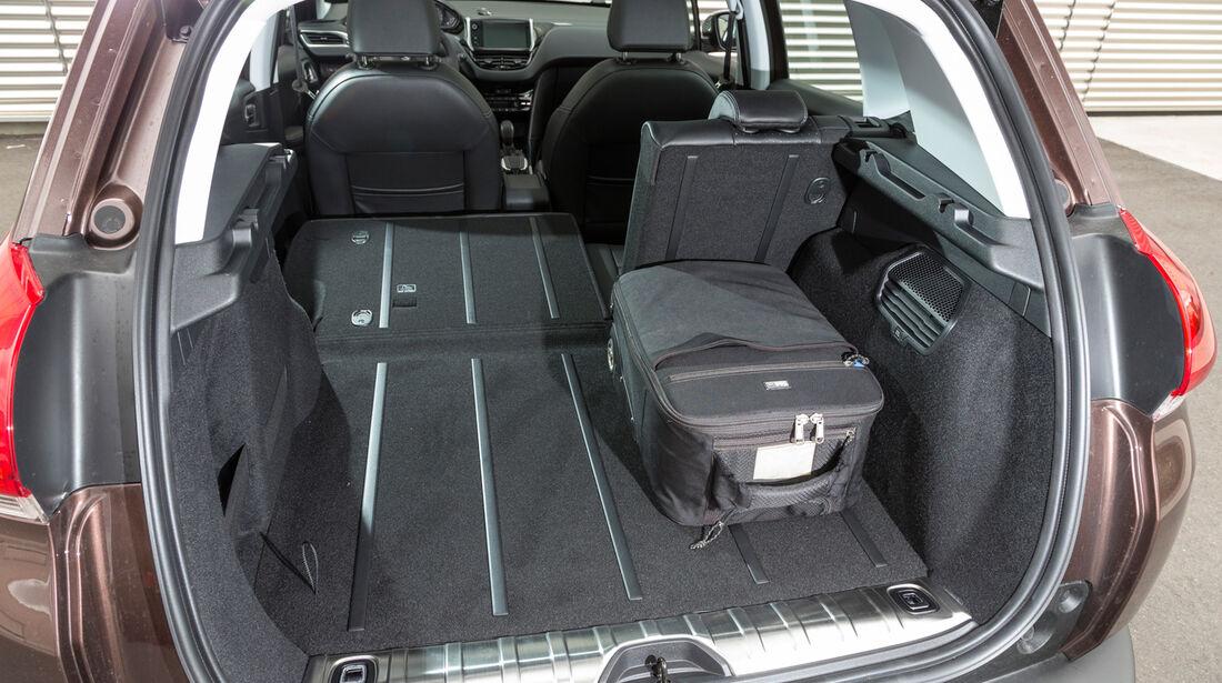 Peugeot 2008 120 Vti, Kofferraum