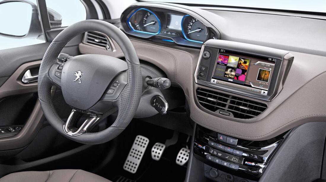 Peugeot 2008, Cockpit, Lenkrad