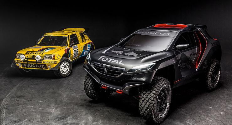 Peugeot 2008 DKR Dakar Rennwagen