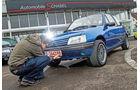 Peugeot 205 Cabriolet CJ, Frontansicht