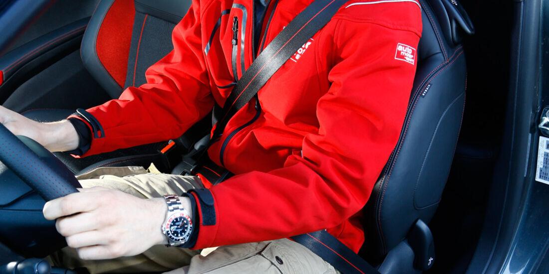 Peugeot 208 GTi, Fahrersitz, Fahrer