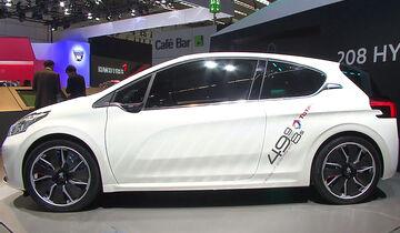 Peugeot 208 Hybrid FE, IAA