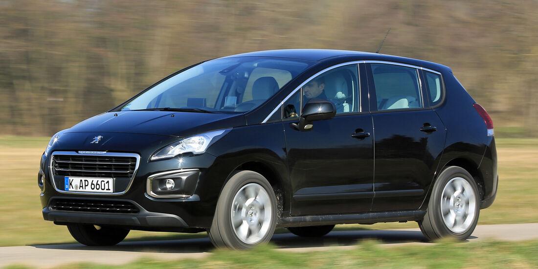 Peugeot 3008 1.6 VTi 120 ACTIVE, Seitenansicht