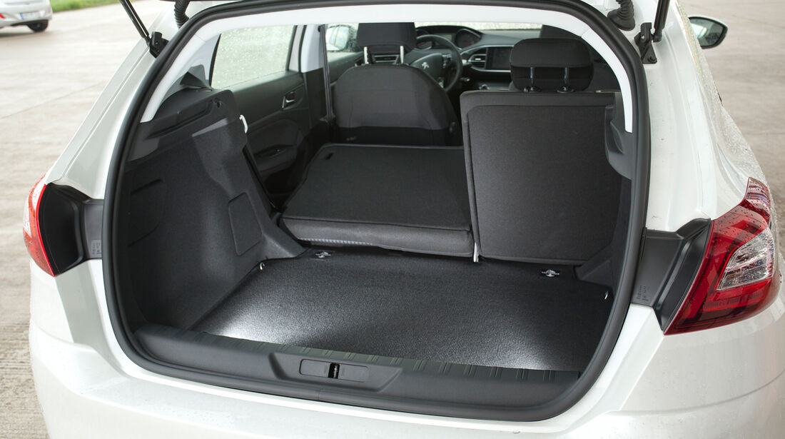 Peugeot 308 125 THP, Hecklappe