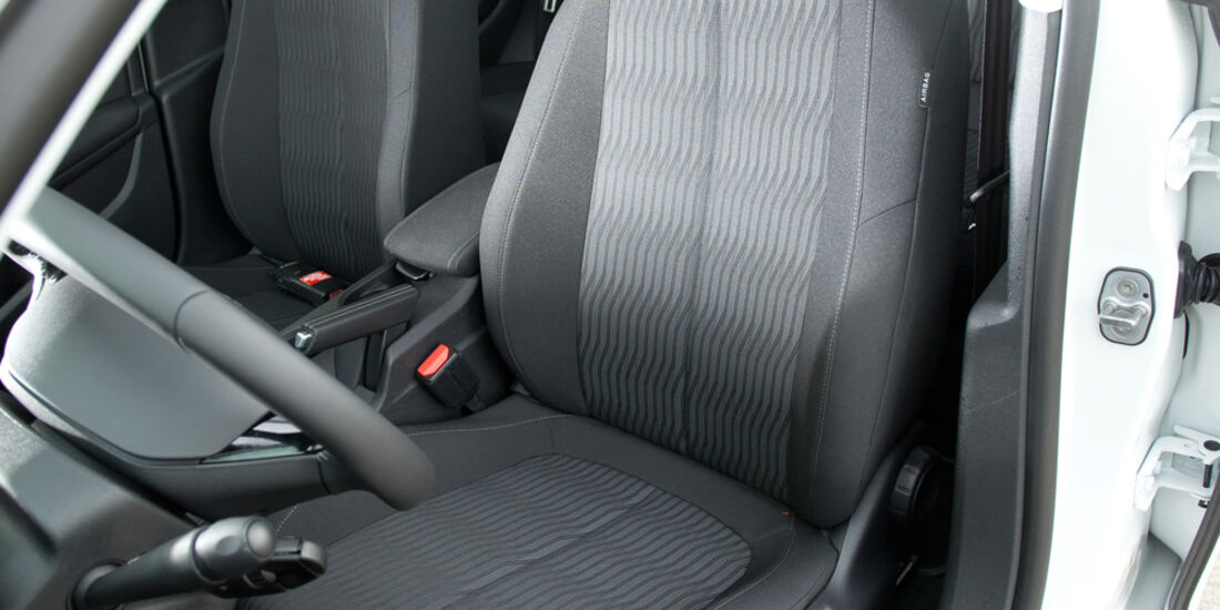 Peugeot 308 125 THP, Rundinstrumente